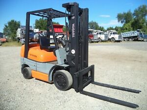 2000 Toyota Model 42 6fgcu25 5 000 5000 Cushion Tired Forklift 189 Lift