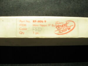 Streetglow 9 Mini Neon Stick Red Nib
