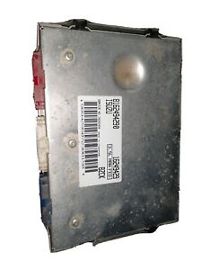 98 1998 Isuzu Trooper 3 5l Engine Computer Ecu Control Module Manual 4x4