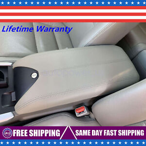 For 2007 2012 Acura Rdx Leather Center Console Lid Armrest Cover Beige Tan