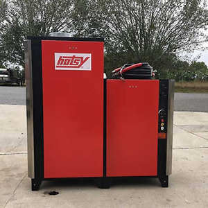 Used Hotsy 942n 3ph natural Gas 4gpm 2000psi Hot Water Pressure Washer