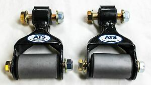 Ats Springs Front Leaf Spring Shackle Kit For Ford F250 F350 Replaces 722 015
