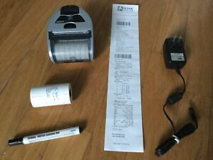 Zebra Imz320 Mobile Wireless Bluetooth Thermal Receipt Printer W adapter Tested