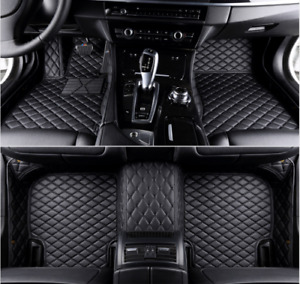 For Nissan March Custom Luxurious Waterproof All weather Non slip Car Floor Mats