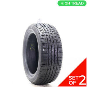 Set Of 2 Used 225 50r17 Kumho Solus Kh16 93h 9 32