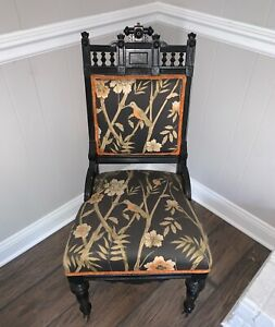 Incredible Late 1800 S Antique Eastlake With Birds