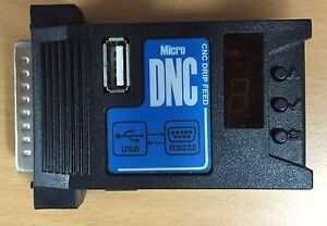 Micro Dnc Low Cost Usb Reader For Cnc Machines Usb To Rs232 Converter
