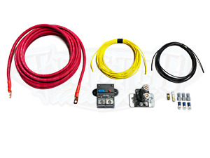 4 Gauge Heavy Duty Wiring Kit For Dual Compressors Viair 444 480 485 Air Zenith