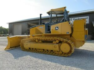 2009 John Deere 750j Lgp Dozer With Duel Winch Nice Shape Good Bottom Low Hours