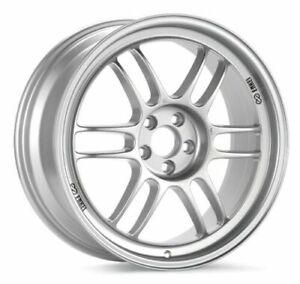 15x7 35 Enkei Rpf1 4x100 Silver Wheels set