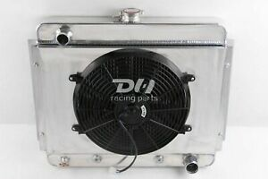 3 Row Radiator shroud 14 Fan For 1962 1967 Chevrolet Nova Chevy Ii 4 6 5 4l V8
