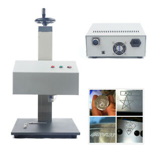 Automatic Pneumatic Marking Engraver Machine With Rotary Tool Metal control Box