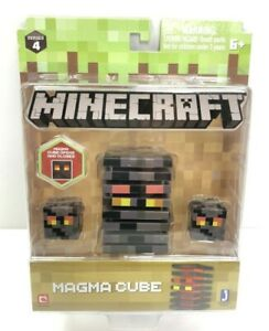 """Minecraft Series 4 Magma Cube Action Figure. 3"""" $8.89"""
