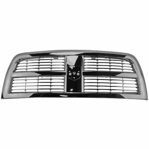 New Chrome Grille For 2010 2012 Dodge Ram 2500 3500 Ch1200335 Ships Today