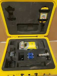 Spectra Precision Laser Dg613 Red Beam Pipe Level Kit W Case Free Shipping