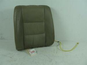 2001 2002 Mazda Millenia Left Driver Front Seat Tan Leather Back Cushion Brown
