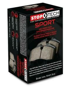 Stoptech Brake Pads Sport Series 309 10010 Fits Acura 2004 2008 Tl Positi