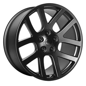 Oe Creations 107 Rim 20x9 5x115 Offset 20 Semi Gloss Black Quantity Of 1