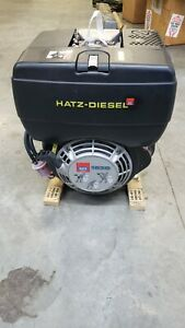 Hatz Diesel Engine 1b30 B Series X Shaft Air Cooled Single Cylinder 6 8 Hp
