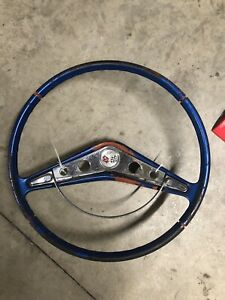 1959 1960 Chevrolet Impala Steering Wheel Rat Rodhot Rod Custom Scta Ford