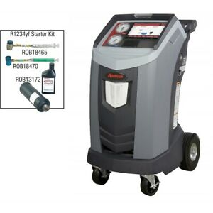 Robinair Premier R 1234yf Recover Recycle And Recharge Machine Bundle New