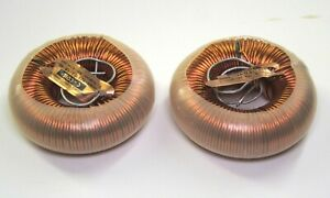 Jantzen C coil Toroidal Inductors 12mh 14awg One Pair 119 When New