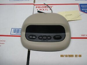 00 05 Chevy Impala Overhead Console With Homelink Oem Tan