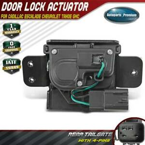 Tailgate Trunk Hatch Door Lock Actuator For Chevy Gmc Yukon Cadillac 4 Pins