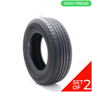 Set Of 2 Used 245 70r17 Goodyear Fortera Hl 108t 9 5 10 32