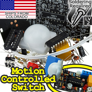 Pyroelectric Infrared pir Motion Sensor Switch Diy soldering Required