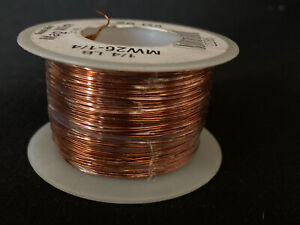 Magnet Wire 26 Awg Gauge Enameled Copper 4oz 155c 314ft Coil Winding