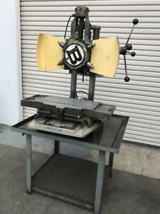 Burgmaster 1d Turret Drill Tapping Machine W positioning Table
