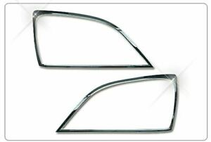 Chrome head Lamp Molding For kia Sorento 2002 2005