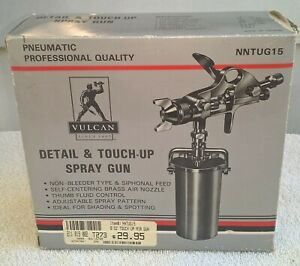 New Vulcan Detail Touch Up Spray Gun Automotive Painting Unused In Box