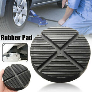 Car Cross Slotted Frame Rail Floor Jack Rubber Pad Adapter For Pinch