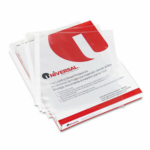 Universal Top load Poly Sheet Protectors Nonglare Economy Letter 200 box 21127