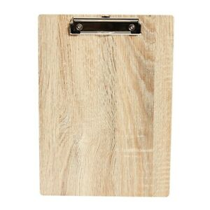 Staples Wood Letter sized Clipboard 51958