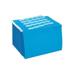 Staples Hanging File Folders 5 tab Legal Size Blue 25 box 163956