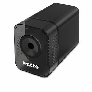 X acto Xlr Office Electric Pencil Sharpener Charcoal Black 1818