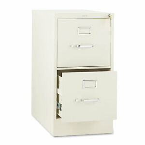 Hon 310 Series Two drawer Full suspension File Letter 26 1 2d Putty 312pl