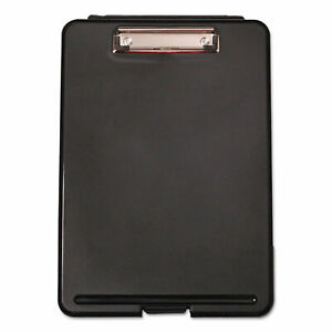 Universal Storage Clipboard 1 2 Capacity 8 1 2 X 11 1 Compartment Black 40318