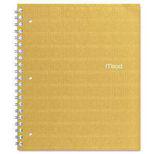 Mead Recycled Notebook College Ruled 11 X 8 1 2 80 Sheets Perforated Assorted