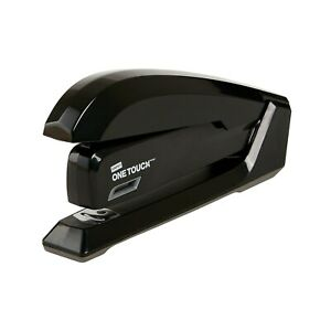 Staples One touch Desktop Stapler Full strip Capacity Black 44436 1798848