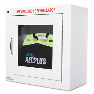 Zoll Aed Wall Cabinet 17w X 9 1 2d X 17h White 80000855