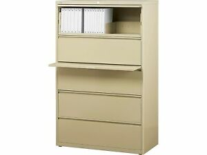 Staples Commercial Hl8000 5 File Drawers Lateral 21744d