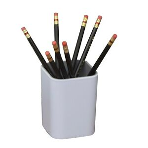 Fusion Pencil Cup White And Gray 37524
