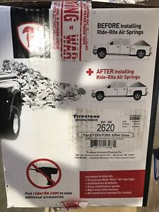 Firestone 2620 Ride Rite Rear Air Bag Helper Spring Kit For Ford F 250 F 350 New