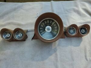 1959 60 Chevy Impala Dash Gauges Cluster