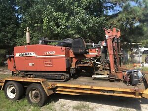 Jt17m1 Ditch Witch Directional Drilling Rig