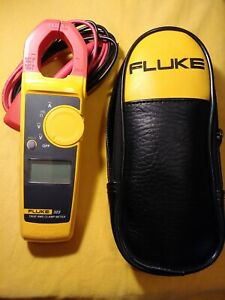 Fluke 323 True Rms Clamp Meter With Case And Test Wires new Without Box